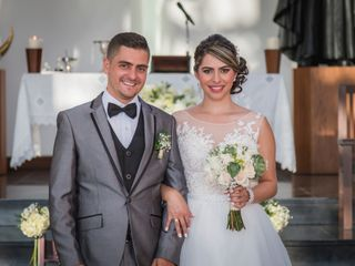 El matrimonio de Andrea y Edd