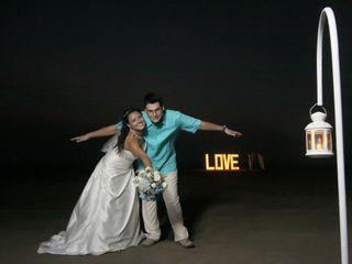 El matrimonio de Lizeth y  Mauricio