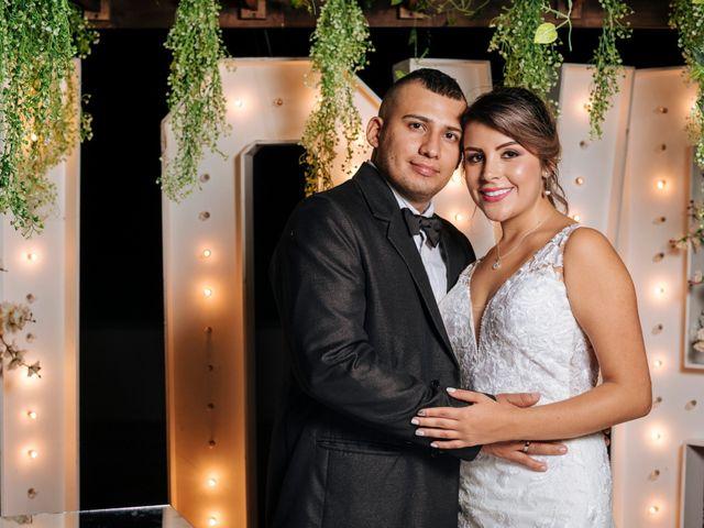 El matrimonio de Estefanía y Andrés Felipe