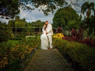 El matrimonio de Vivian y Gustavo