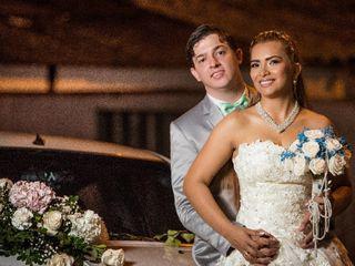 El matrimonio de María Eugenia  y David