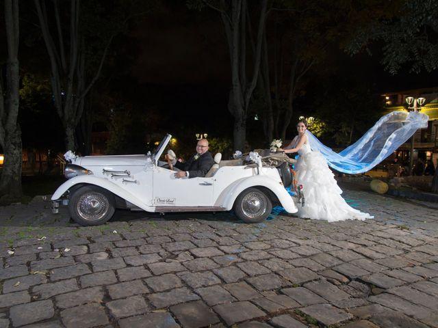 El matrimonio de Jennifer y Javier