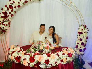 El matrimonio de Jhennyfer y Juan David