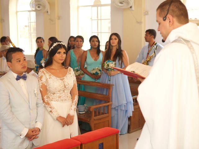 El matrimonio de Pank y Daniella en San Andrés, Archipiélago de San Andrés 30