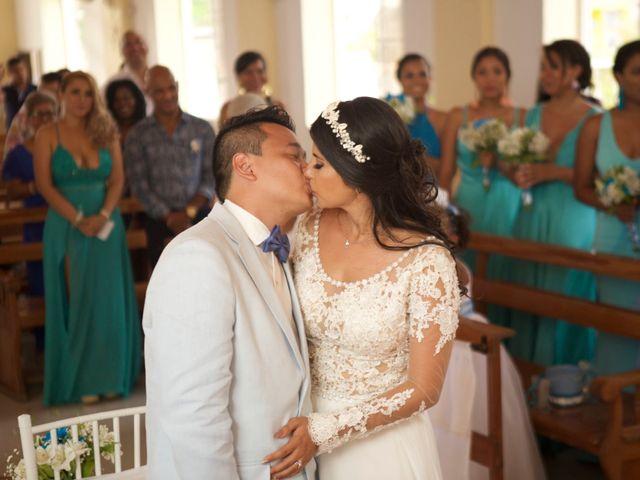 El matrimonio de Pank y Daniella en San Andrés, Archipiélago de San Andrés 32