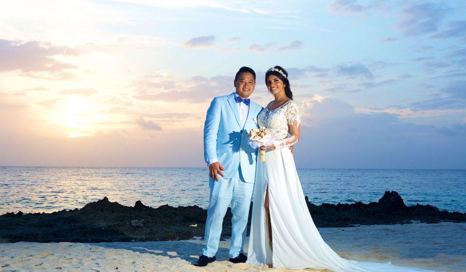 El matrimonio de Pank y Daniella en San Andrés, Archipiélago de San Andrés