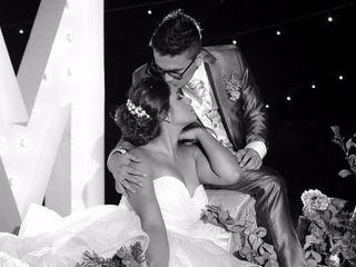 El matrimonio de Aliss y Miguel