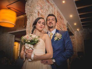 El matrimonio de Laura y Hugo