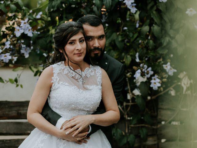 El matrimonio de Shirley Rivera  y Cristian Martínez