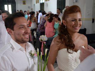 El matrimonio de Diana y Andres