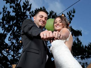El matrimonio de Maria Isabel y Santiago