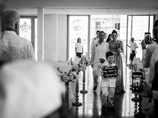 El matrimonio de Roy y Luz en Cartagena, Bolívar 6