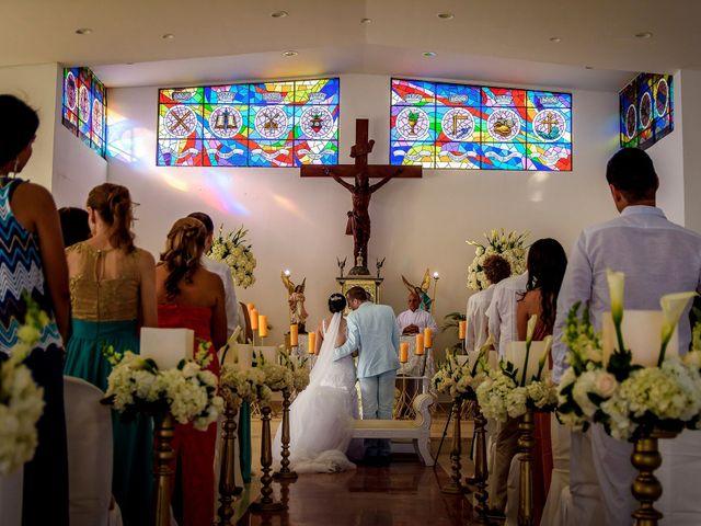 El matrimonio de Roy y Luz en Cartagena, Bolívar 9