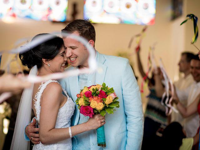 El matrimonio de Roy y Luz en Cartagena, Bolívar 1