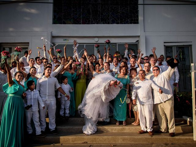 El matrimonio de Roy y Luz en Cartagena, Bolívar 12