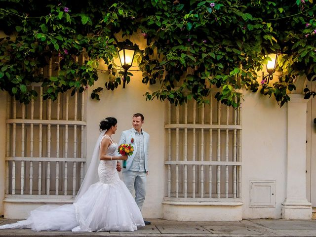 El matrimonio de Roy y Luz en Cartagena, Bolívar 14