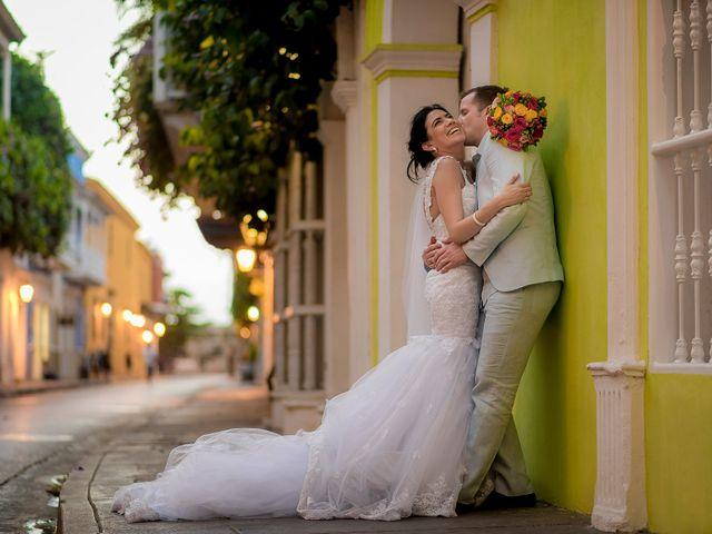 El matrimonio de Roy y Luz en Cartagena, Bolívar 15