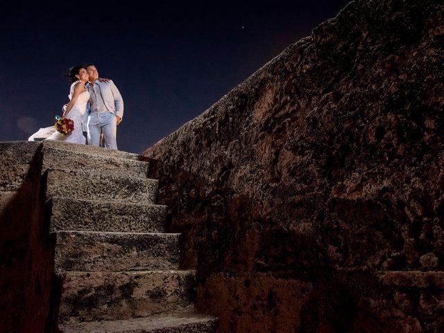 El matrimonio de Roy y Luz en Cartagena, Bolívar 16