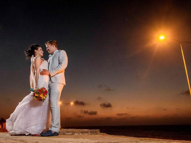El matrimonio de Roy y Luz en Cartagena, Bolívar 17