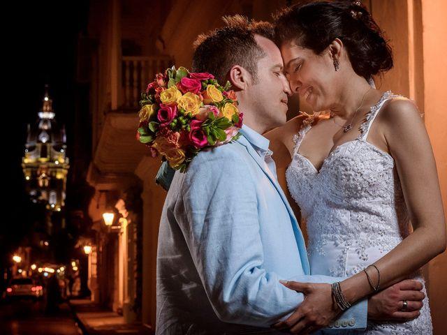 El matrimonio de Roy y Luz en Cartagena, Bolívar 18