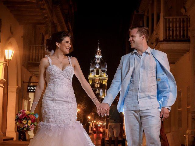 El matrimonio de Roy y Luz en Cartagena, Bolívar 19