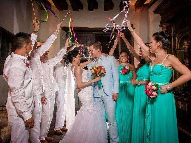 El matrimonio de Roy y Luz en Cartagena, Bolívar 20