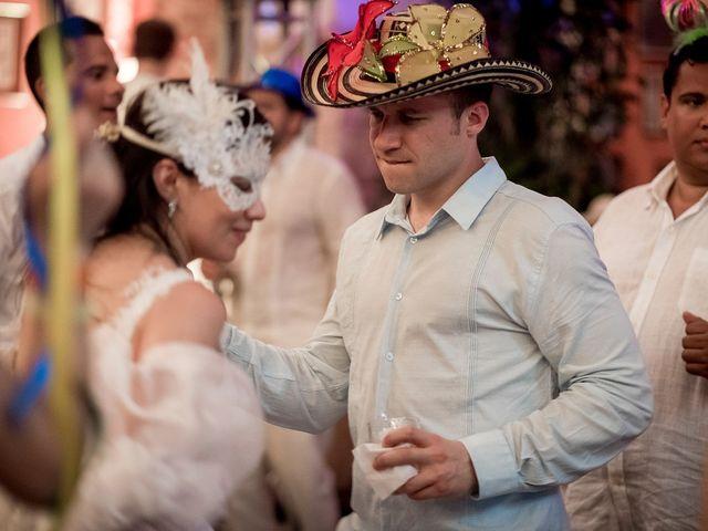 El matrimonio de Roy y Luz en Cartagena, Bolívar 34