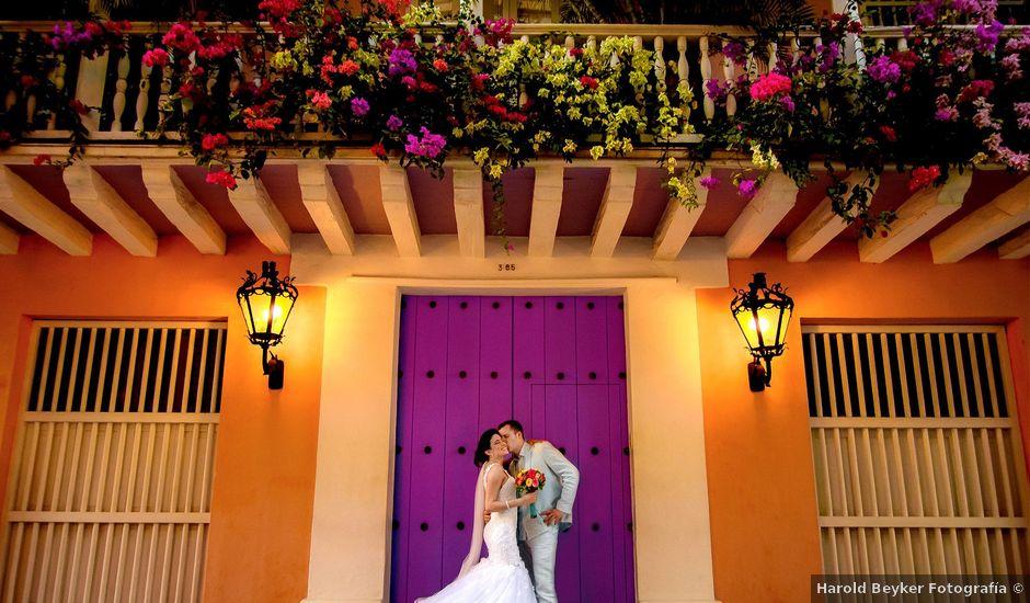 El matrimonio de Roy y Luz en Cartagena, Bolívar