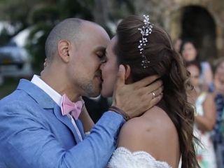 El matrimonio de Enza y Luis