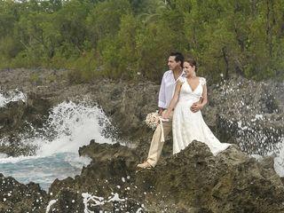 El matrimonio de María Paula y Andrés