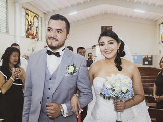 El matrimonio de Gloria  y Gustavo