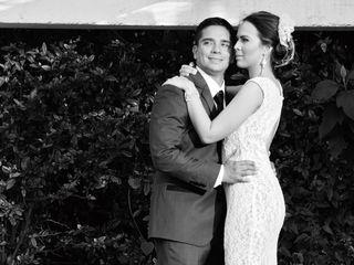 El matrimonio de Angélica y Andrés