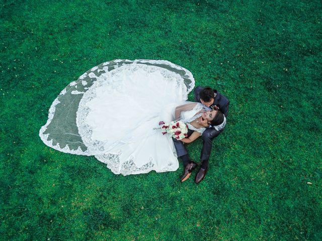 El matrimonio de Esperanza y Óscar