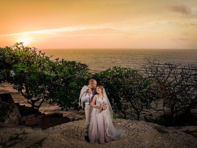 El matrimonio de Carolina y Milton