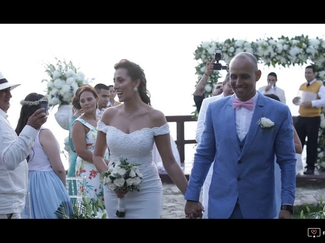 El matrimonio de Luis y Enza en Barranquilla, Atlántico 1
