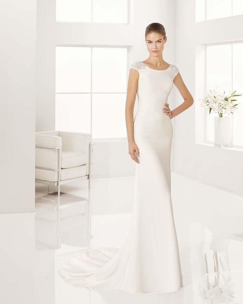 Imagenes de vestidos de novia elegantes y sencillos