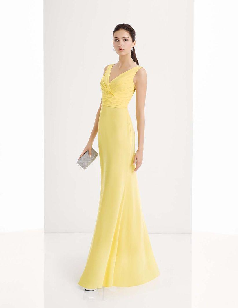 Vestidos de noche elegantes y sencillos