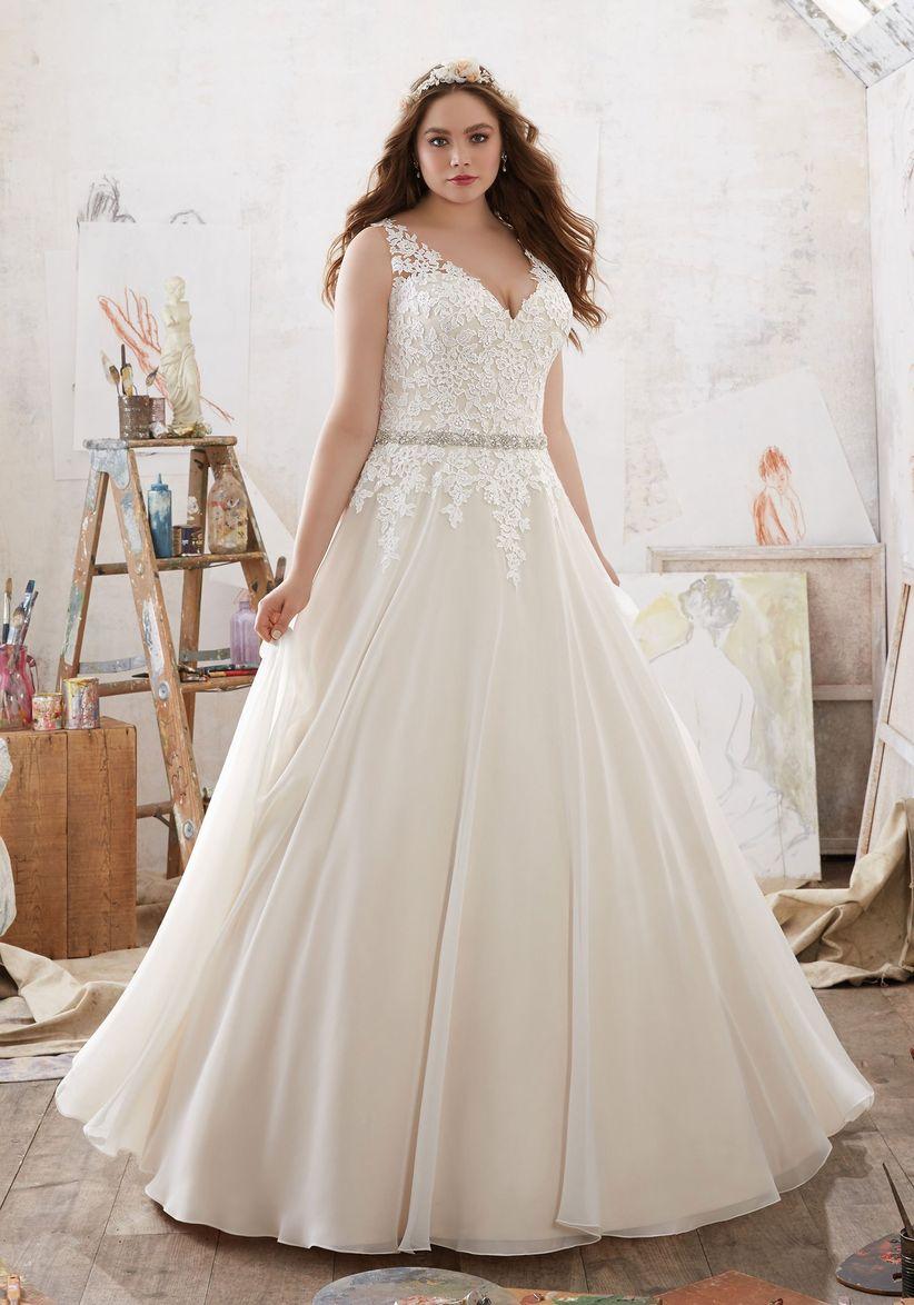 Vestidos de novia sencillos para gorditas bogota
