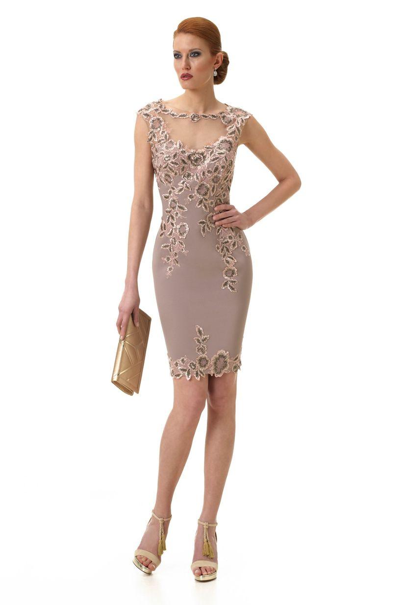 4dfe5ac15de3 Vestidos de fiesta cortos: 50 diseños para deslumbrar