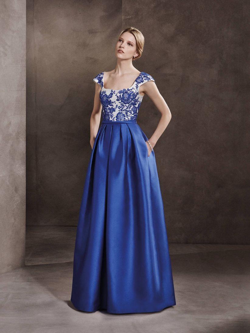e0cda4cf0 50 vestidos de fiesta azules para brillar en tu próxima boda