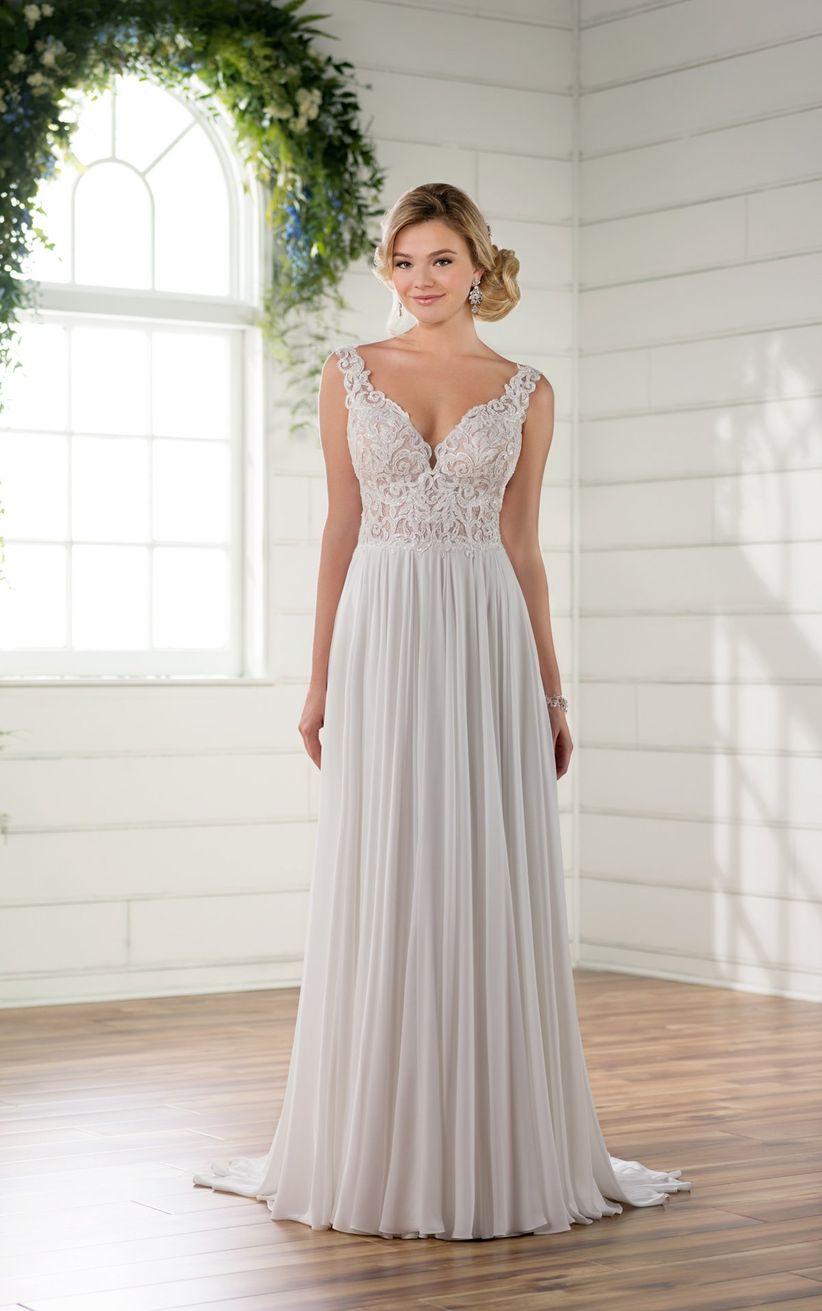 528d373d4 Qué tipos de telas se usan para los vestidos de novia