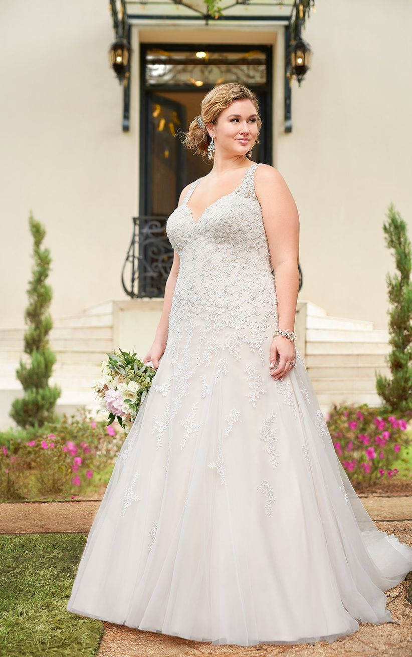 6a76cacce Vestidos de novia para gorditas: los 60 modelos más encantadores