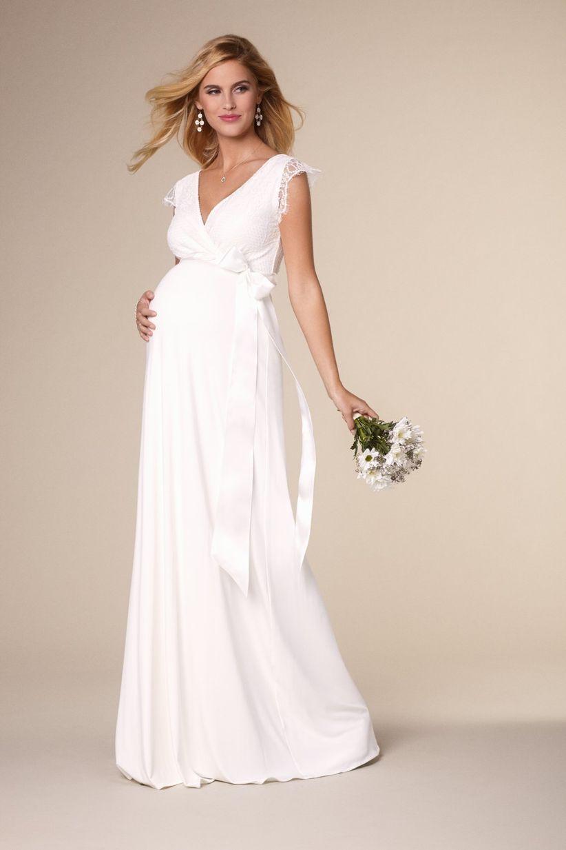 Vestidos de novia para embarazadas bogota