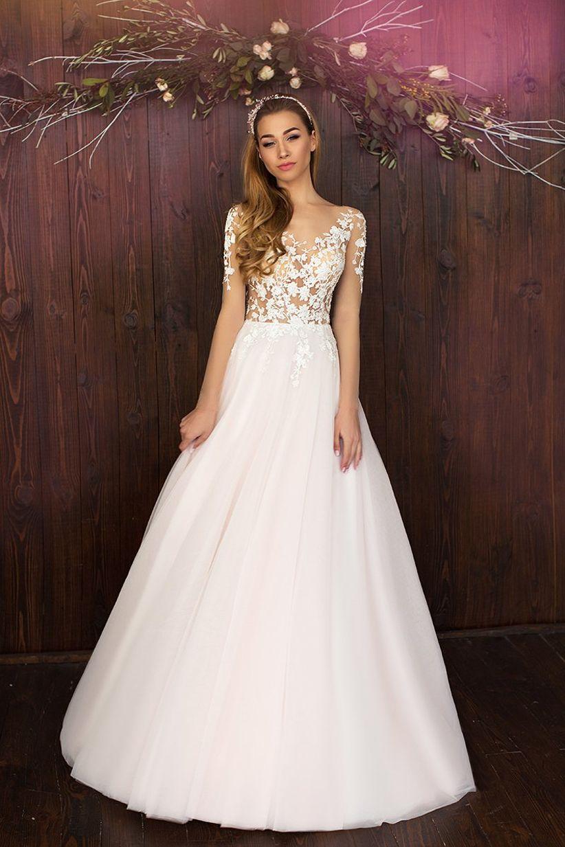 Vestidos de novia hermosos estilo princesa