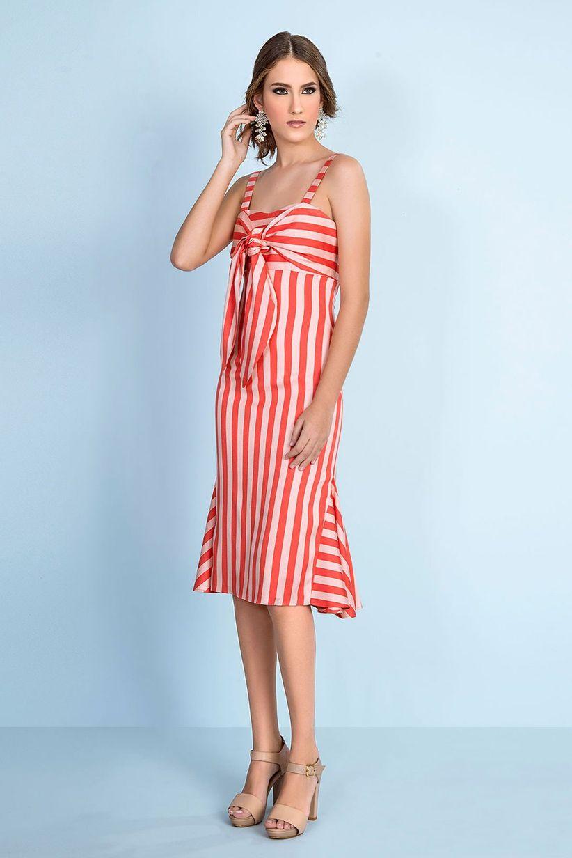 Vestidos rojos cortos: 30 modelos llamativos y seductores