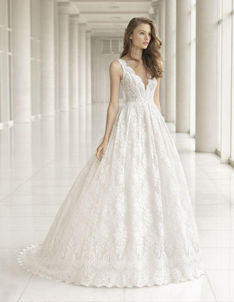 51d8e8bd38 80 modelos de vestidos de novia corte princesa