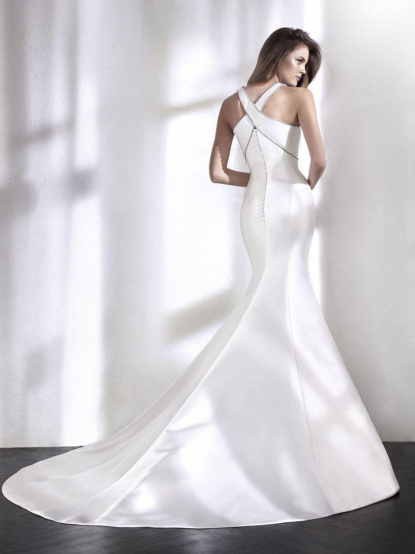 Vestidos de novia sobrios