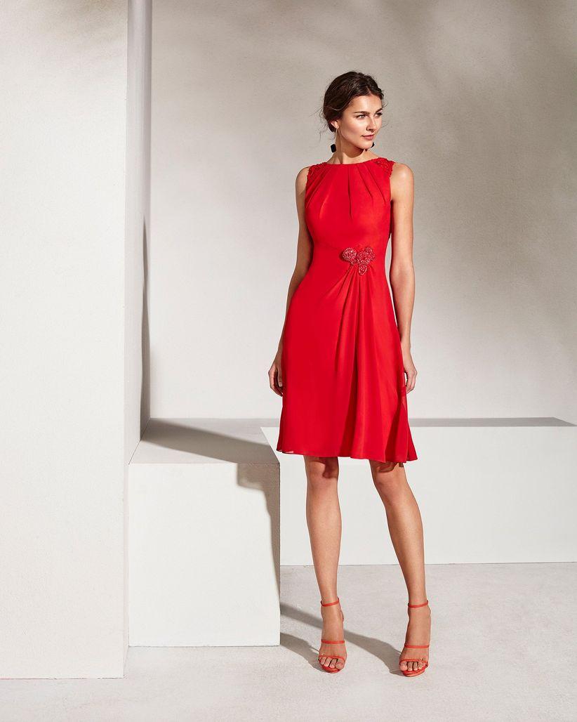 121abd1d29129 Vestidos rojos cortos  30 modelos llamativos y seductores