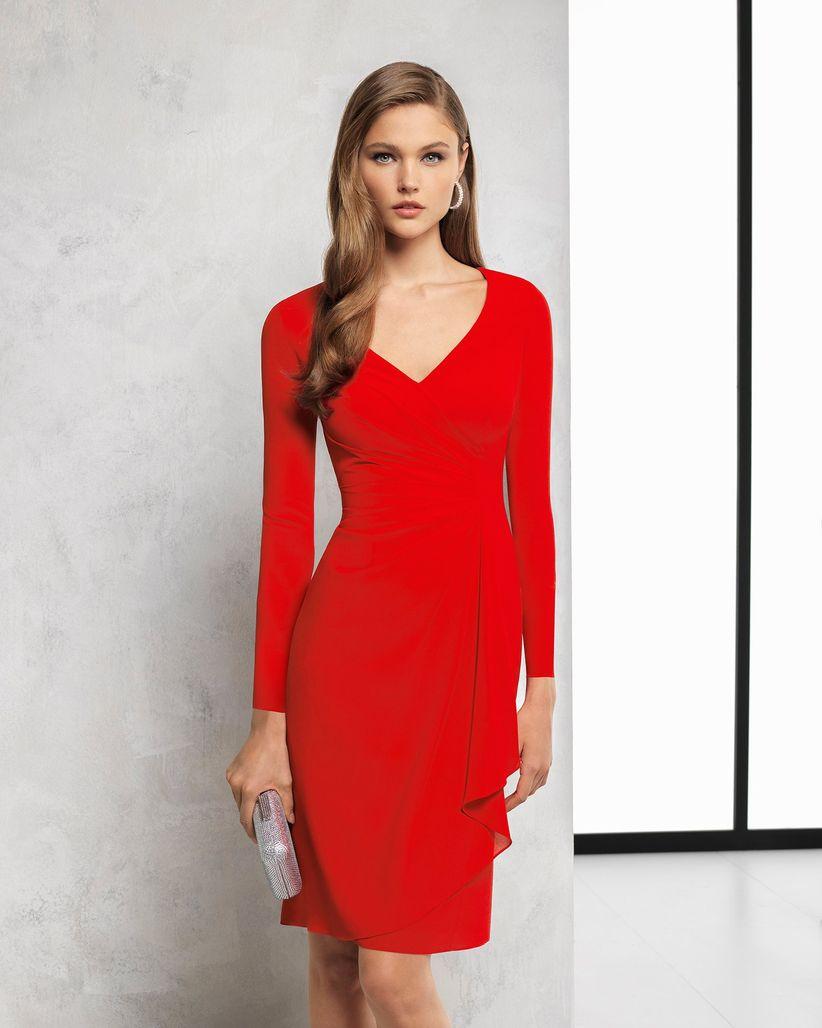 eb4e17cf1 Vestidos rojos cortos  34 modelos llamativos y seductores