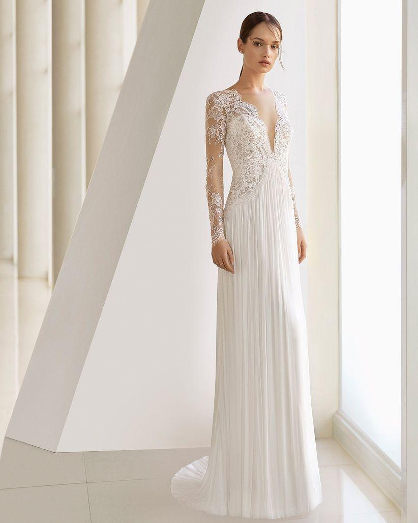7292ec8e74ea 30 vestidos aliados para novias de baja estatura